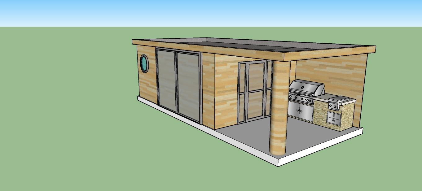 Plan Ou Photo Pool House Pour Piscine piscine traditionelle 8x4 m + poolhouse red cedar | piscines