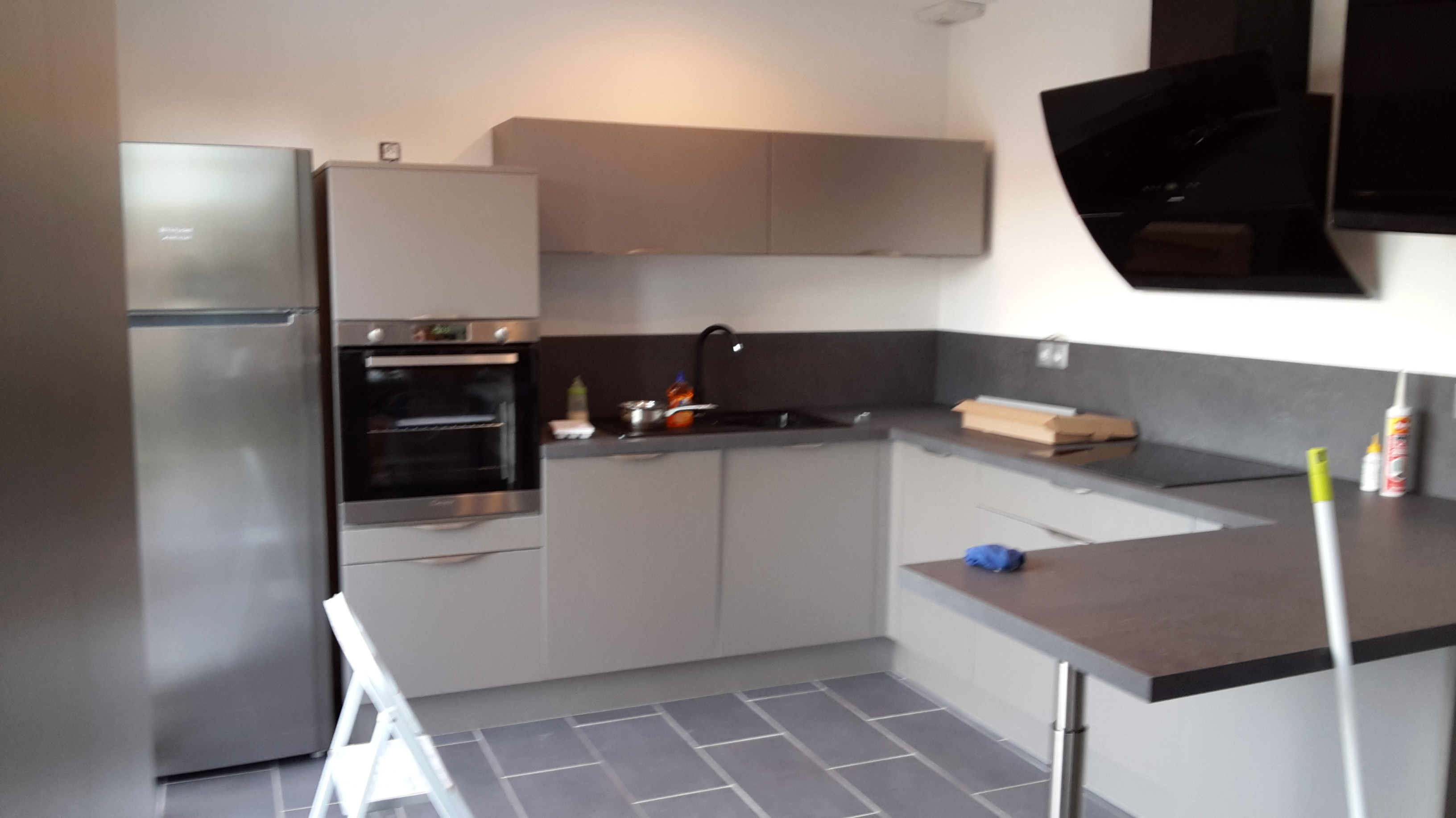 Meuble Haut Cuisine Brico Depot Affordable With Meuble Haut - Pose meuble haut cuisine pour idees de deco de cuisine