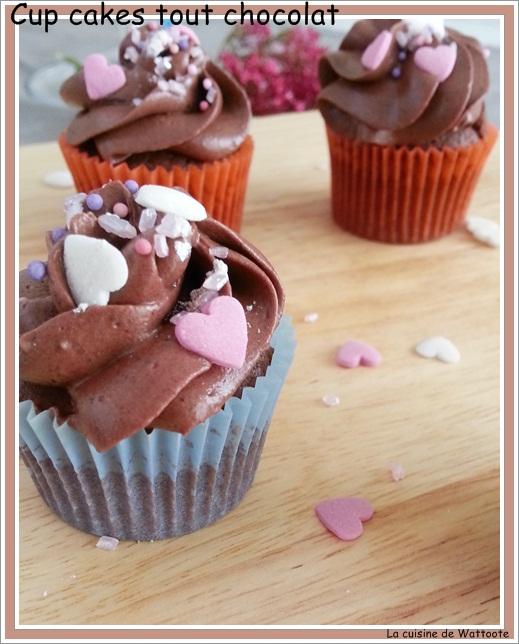 cup cakes chocolat