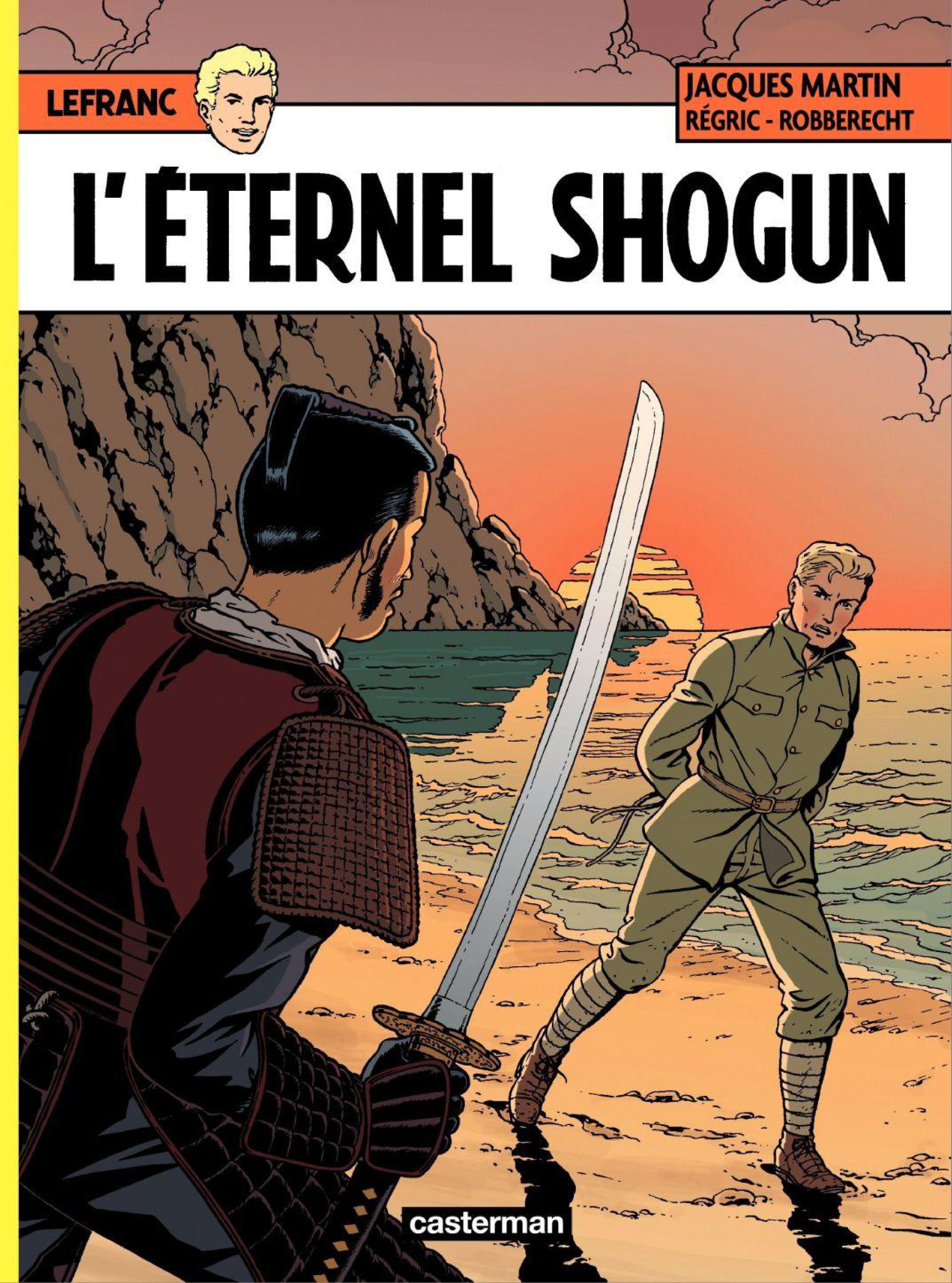 LEFRANC    Tome 23 - L'ETERNEL SHOGUN