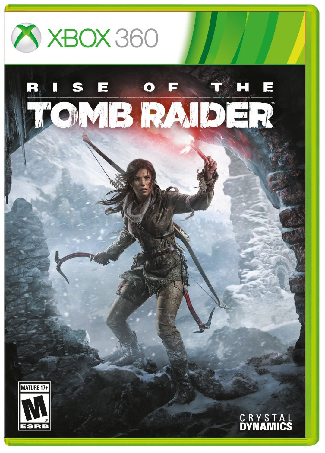 Poster for Rise of the Tomb Raider