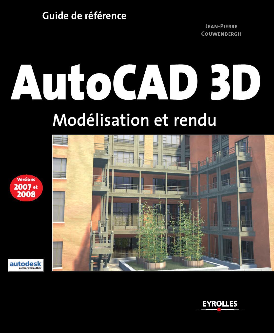Autocad 3d mod lisation et rendu telecharger magazine for 3d modelisation