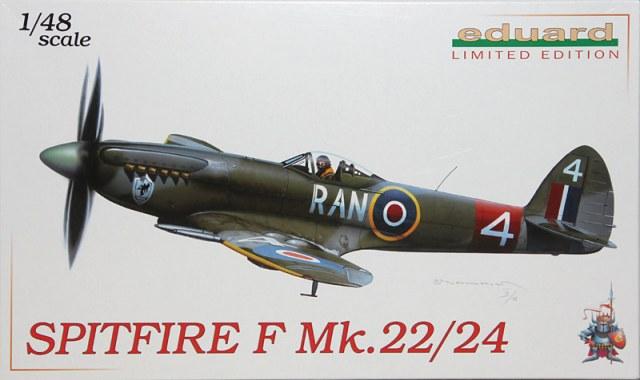 Spitfire F MK 22 , Eduard 1/48 .Limited édition ! 15110607094867974