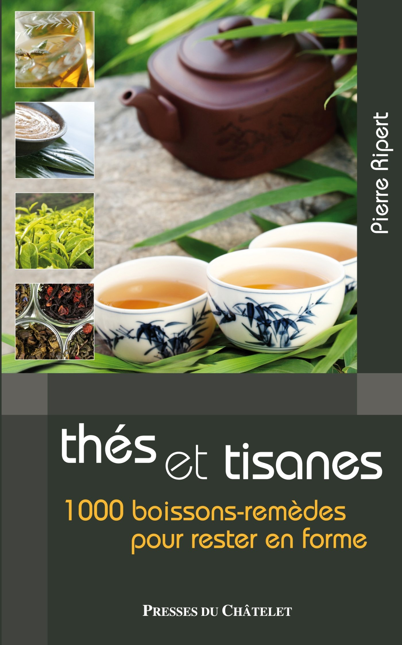 Les bienfaits des thés et tisanes : 1 000 boissons-remèdes pour rester en forme