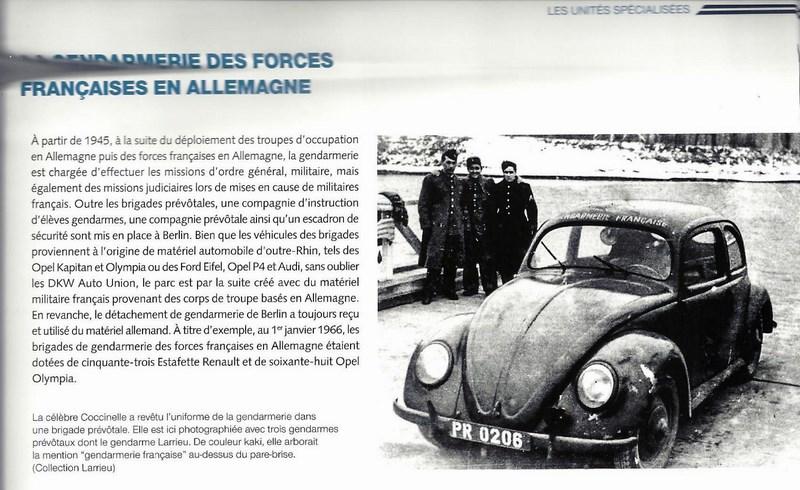 Matériel Gendarmerie des F.F.A (Prévôté) 151122123033248554