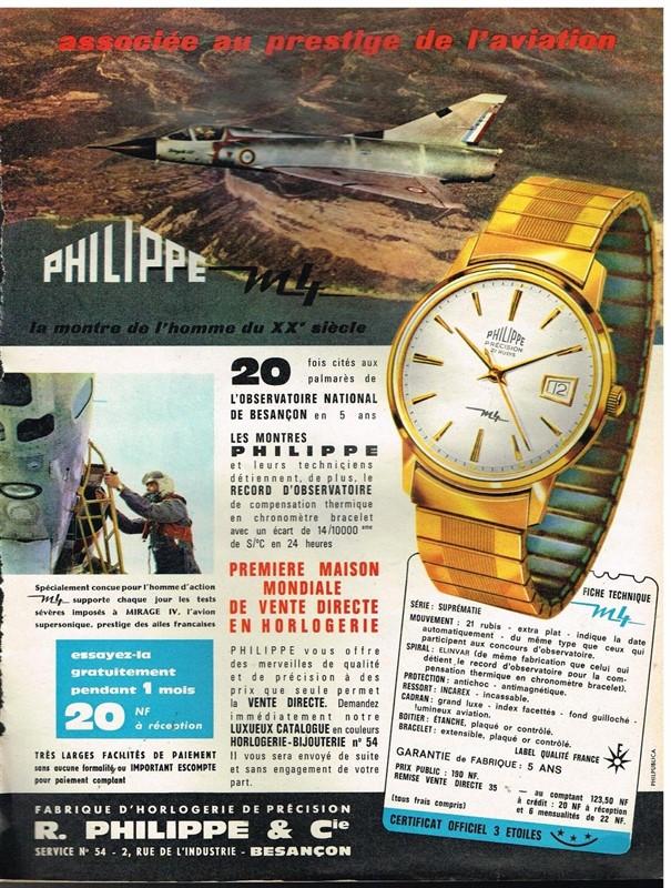 Mes quelques PHILIPPE et petite chronique de la marque 15112310025612847