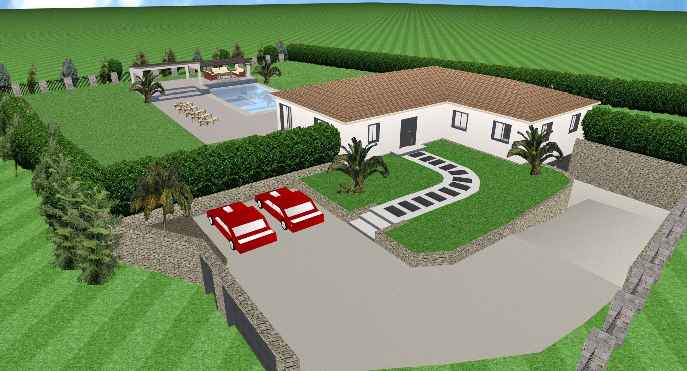 Notre maison en auto construction , var
