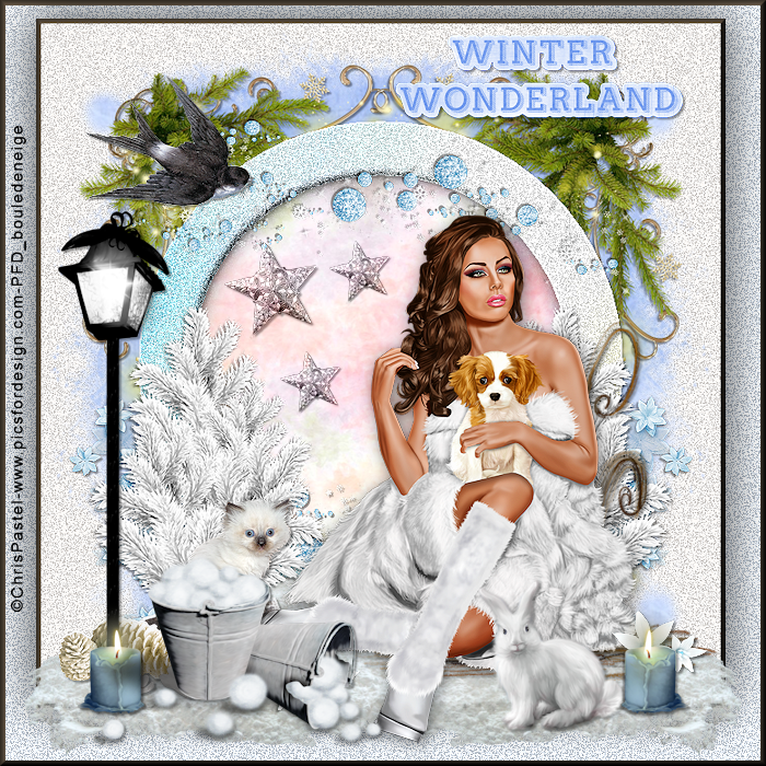 tuto perso wonderland winter