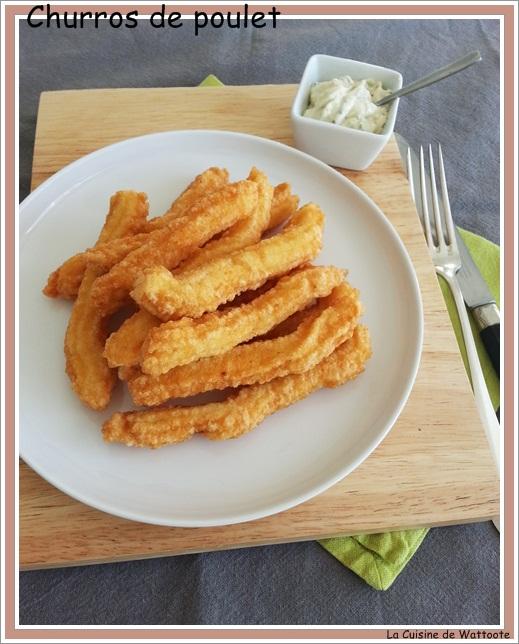 churros poulet