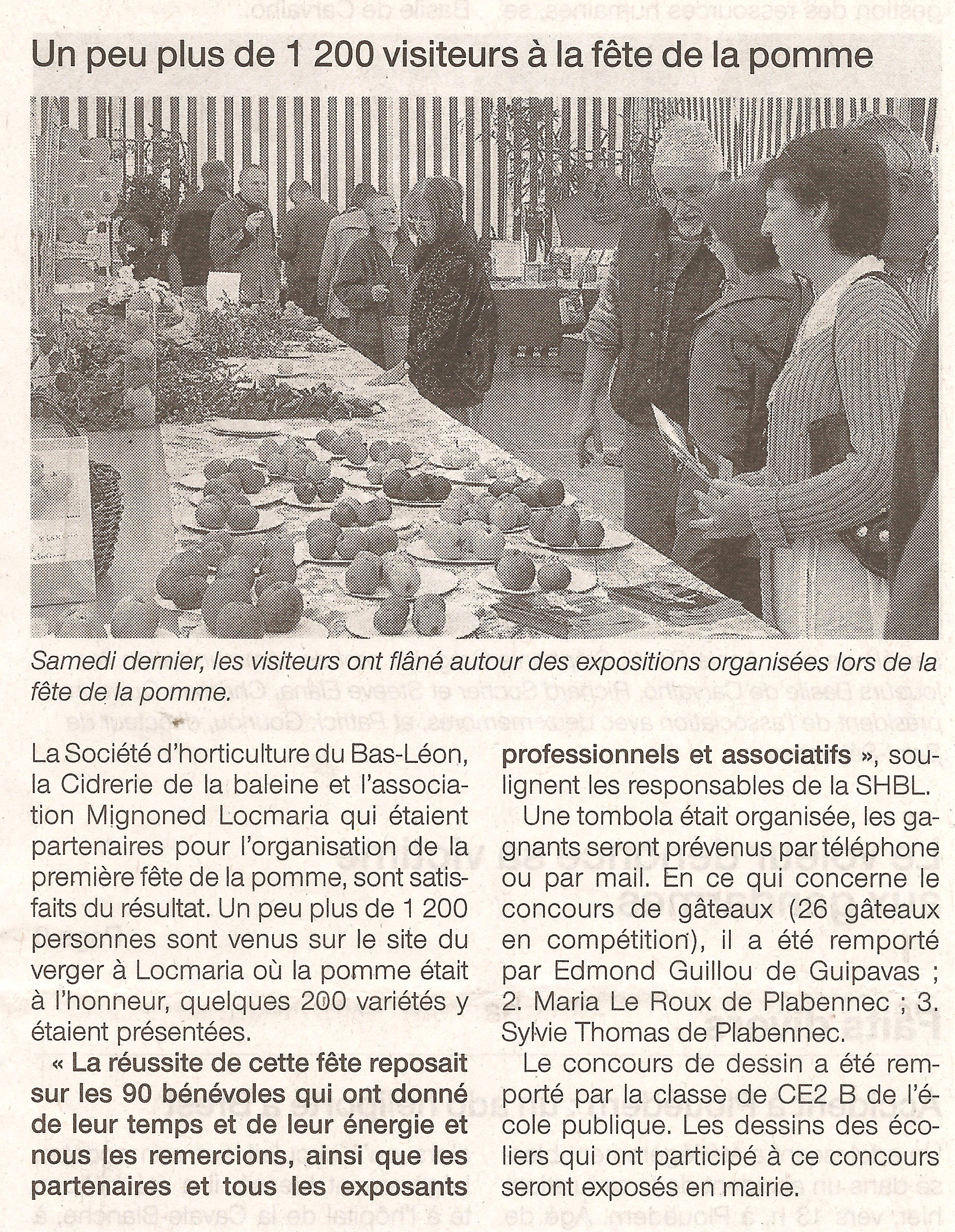 2009 10 15 Ouest France