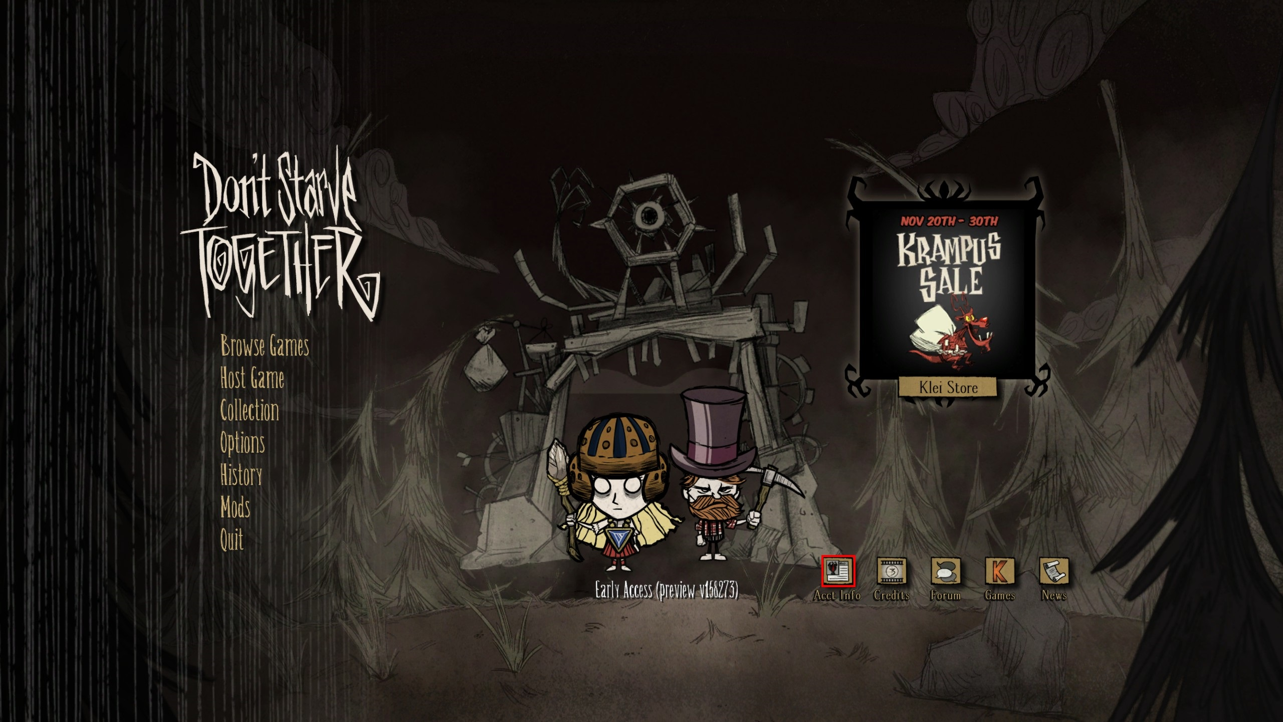 Don't starve together dedicated server windows s