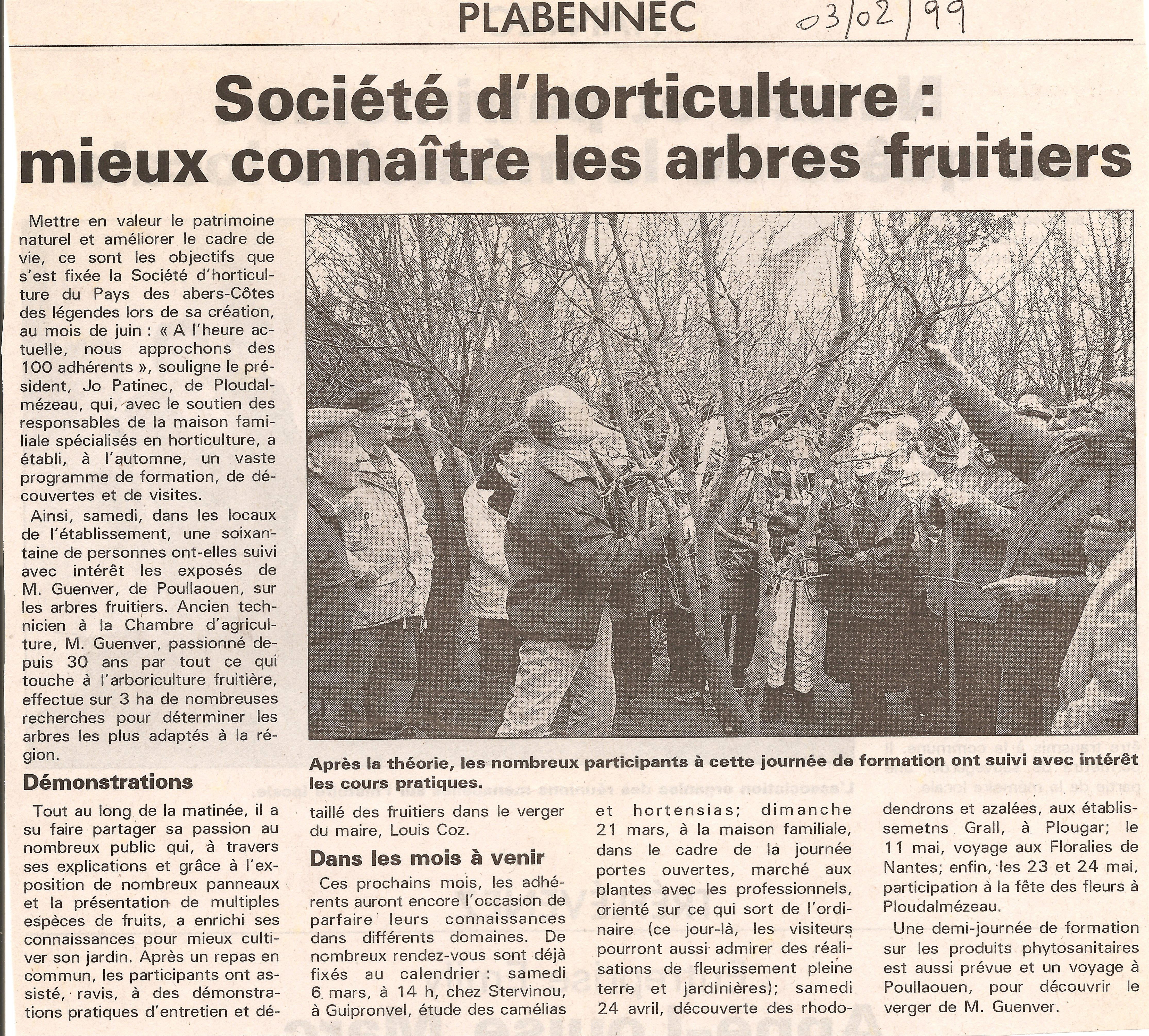 1999 02 03 Ouest France
