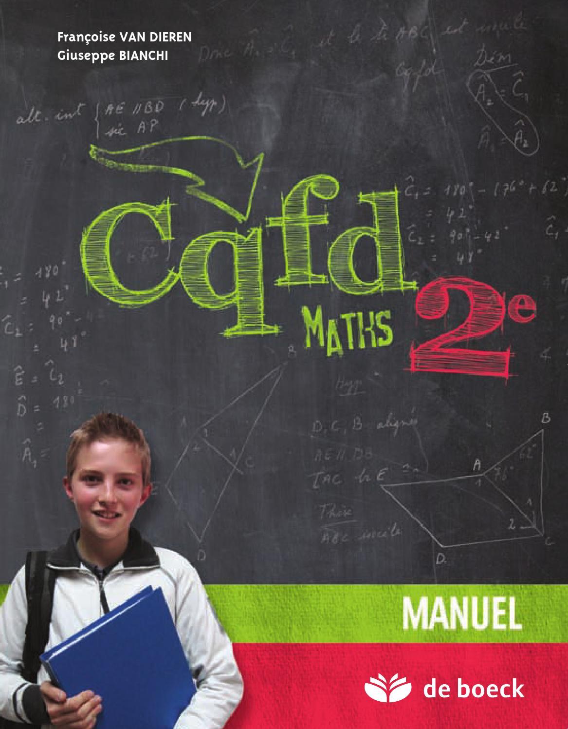 CQFD Maths 2e Manuel