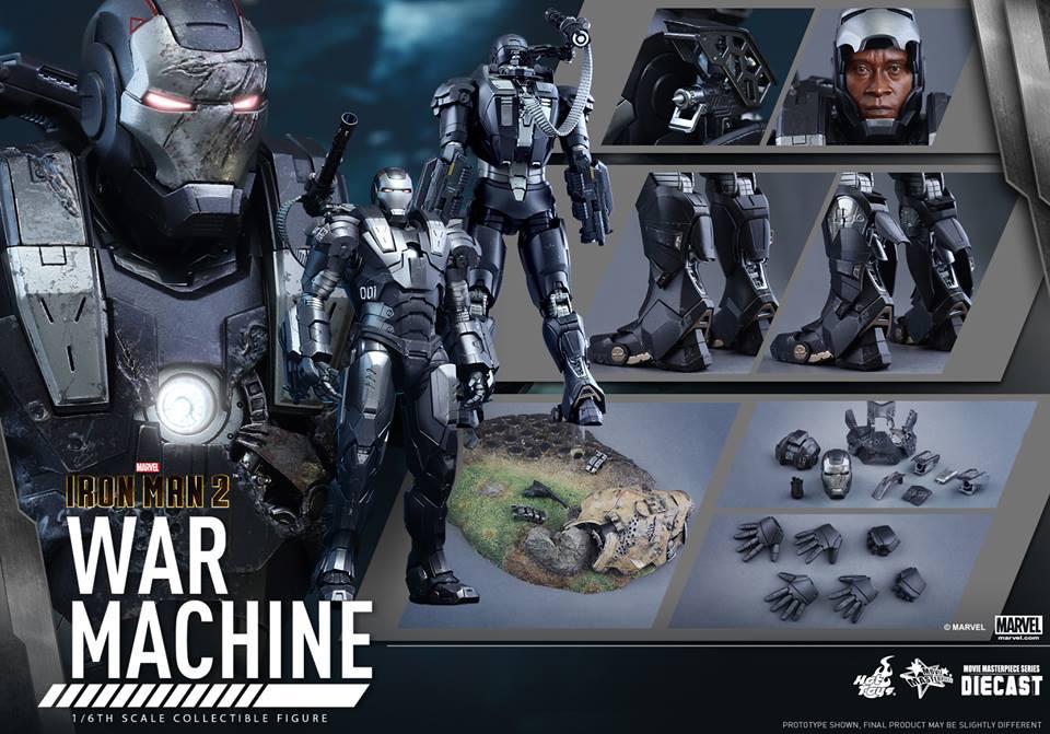 IRON MAN 2 - WAR MACHINE 2.0 (MMS331DC13) 151209093933190188
