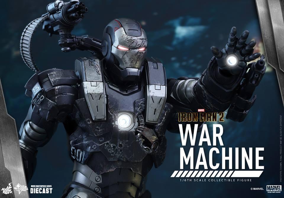 IRON MAN 2 - WAR MACHINE 2.0 (MMS331DC13) 151209093933590596