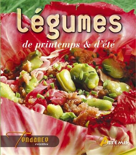 Légumes frais de printemps et d'été