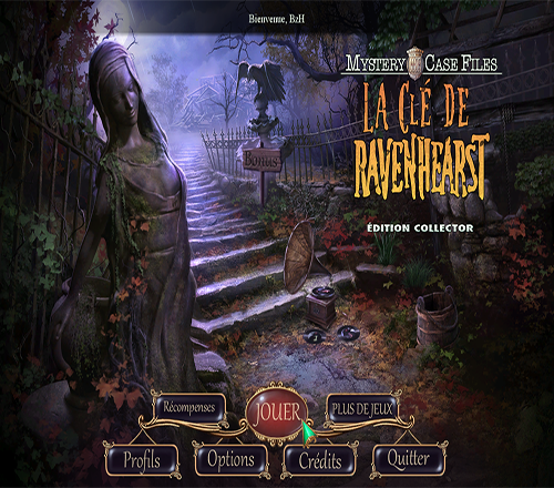 CASE TÉLÉCHARGER RAVENHEARST GRATUITEMENT EDITION TERREUR FILES MYSTERY COLLECTOR