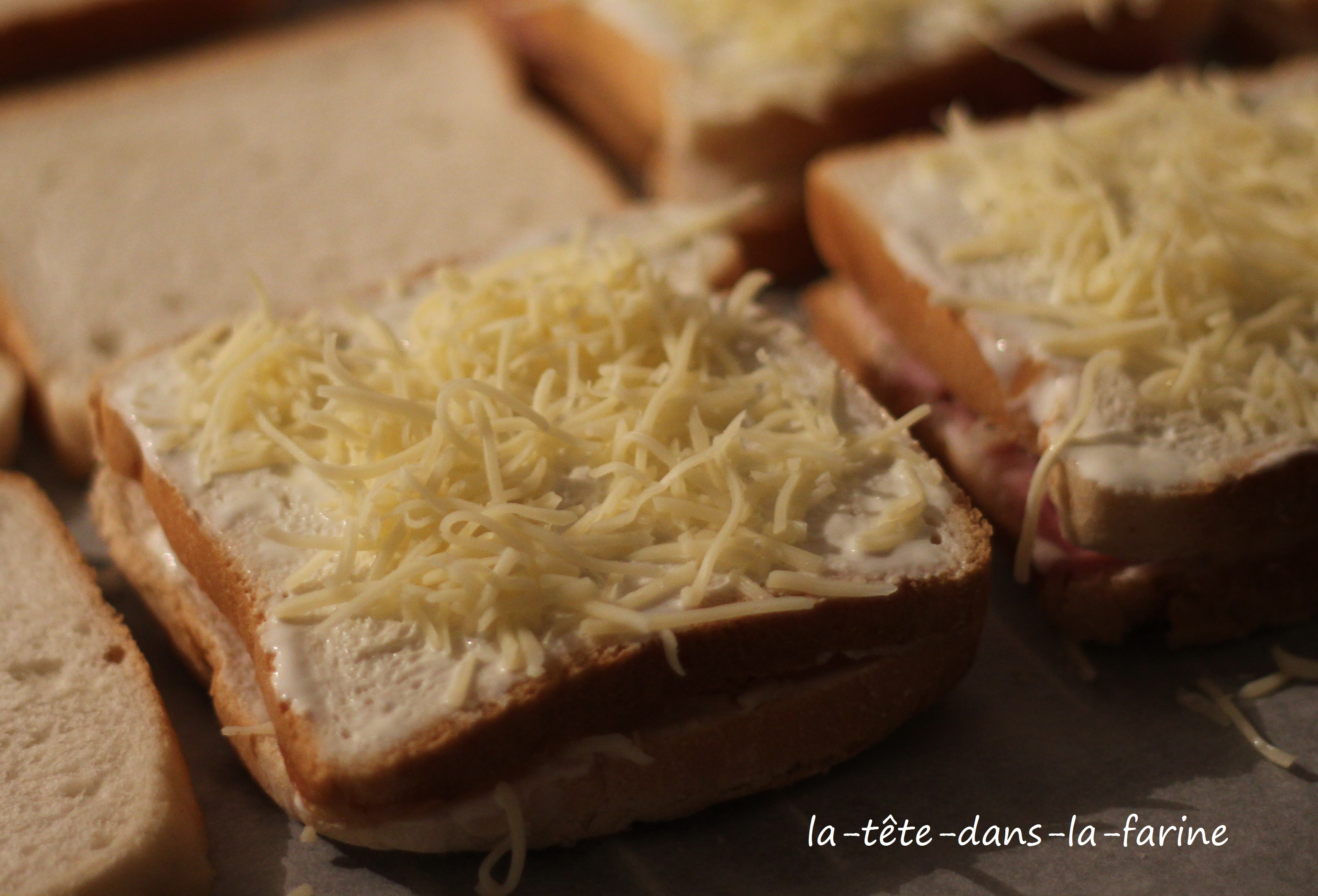 Croque Monsieur Party