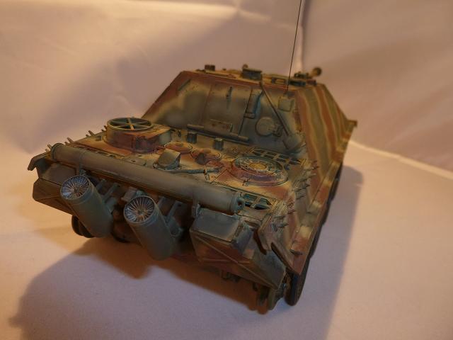 Jagdpanther fin de guerre 1945 - Dragon 1/35  151217084715360084