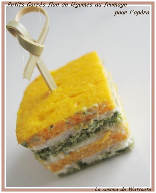 carres-flan-de-legume-fromage