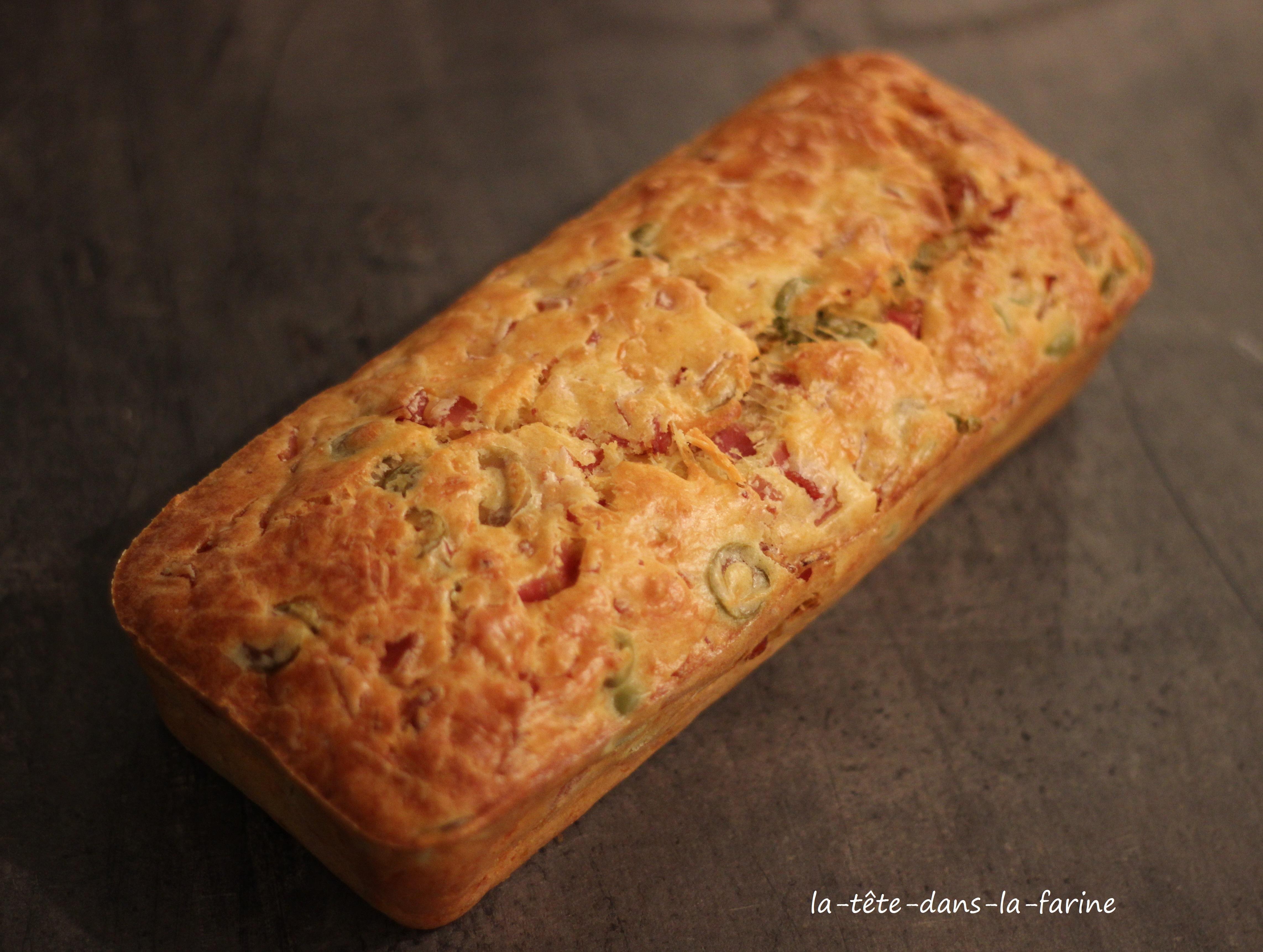 cake salé jambon olive