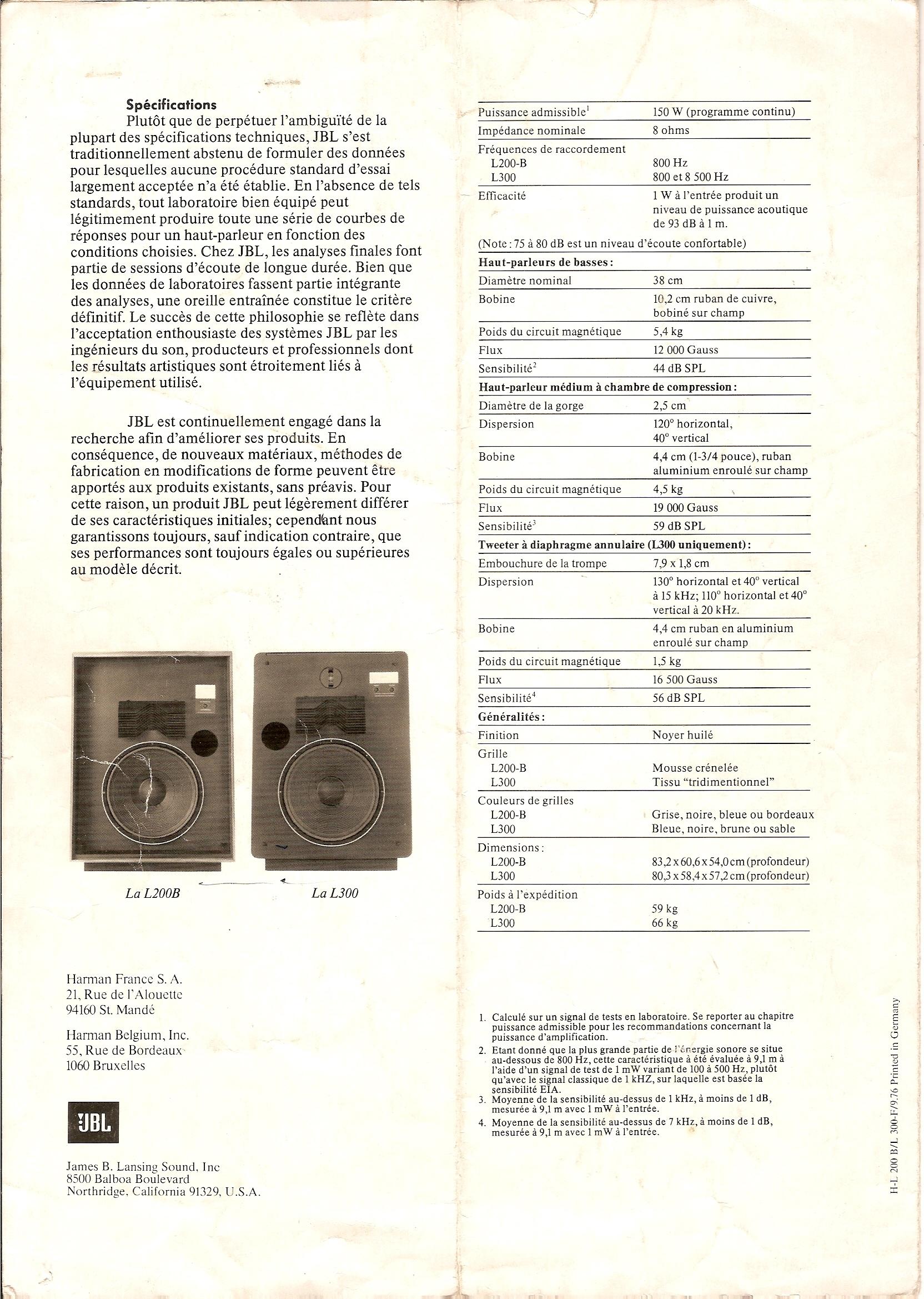 Modèle L300 Année 1976/77 151224041608642179