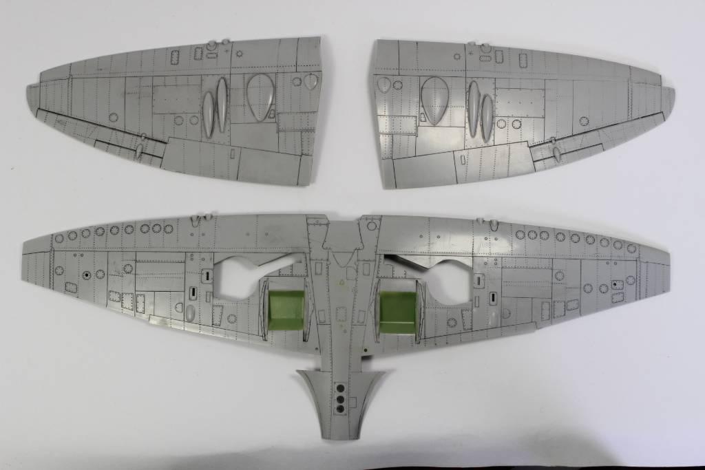 Spitfire F MK 22 , Eduard 1/48 .Limited édition ! 151224044801632781