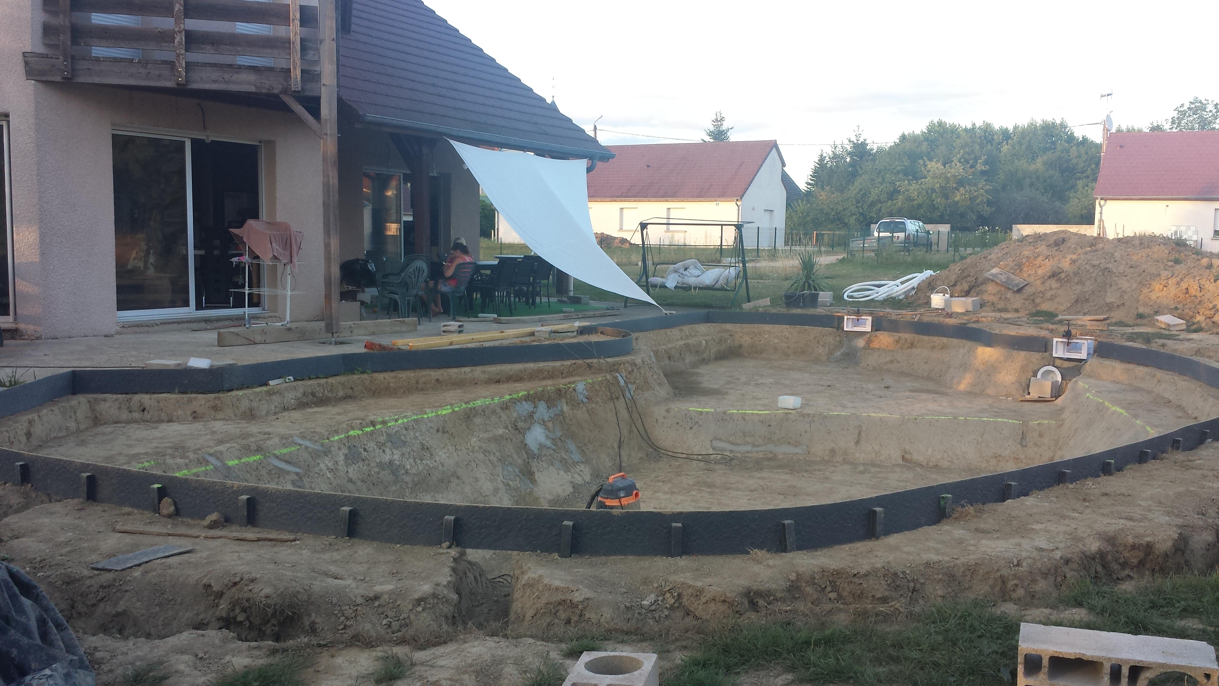 Bassin De Baignade Autoconstruction auto construction piscine sur terre   piscines réalisations