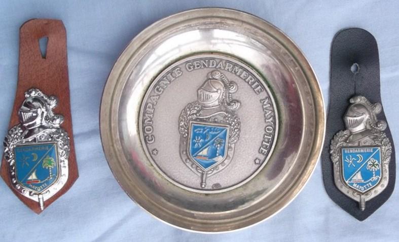 coupelle et insignes  (Mayotte) 151227031219527110