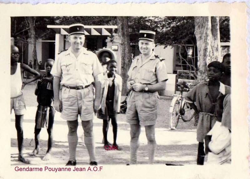 Petit aperçu d'un gendarme en A.O.F en 1957/58 151227070942321791