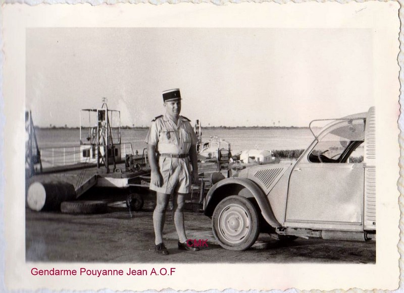 Petit aperçu d'un gendarme en A.O.F en 1957/58 151227070945485705