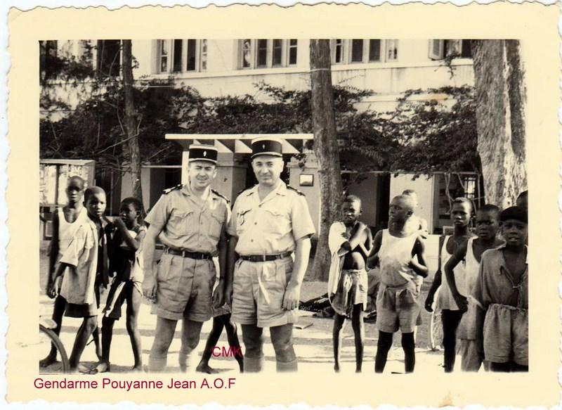 Petit aperçu d'un gendarme en A.O.F en 1957/58 15122707095379063