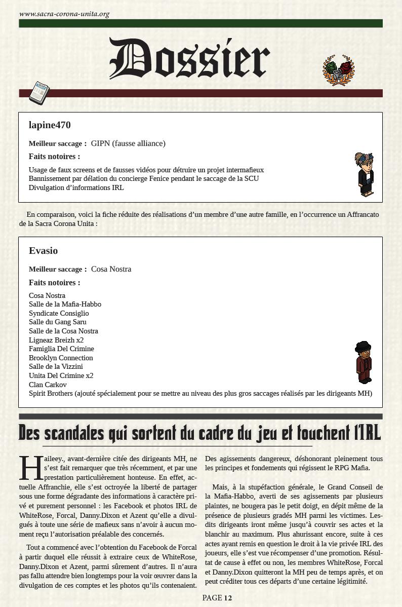 Il Corriere N°6 du 27 décembre 2015 1512271155098714