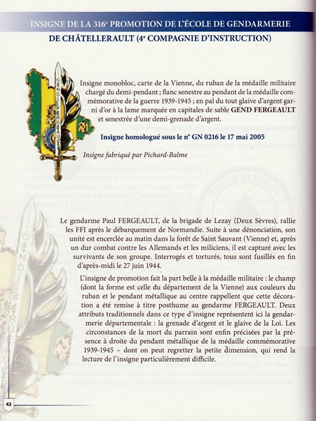 En l'honneur du Gendarme Paul Fergeault de Lezay (79120) 151229055814734563
