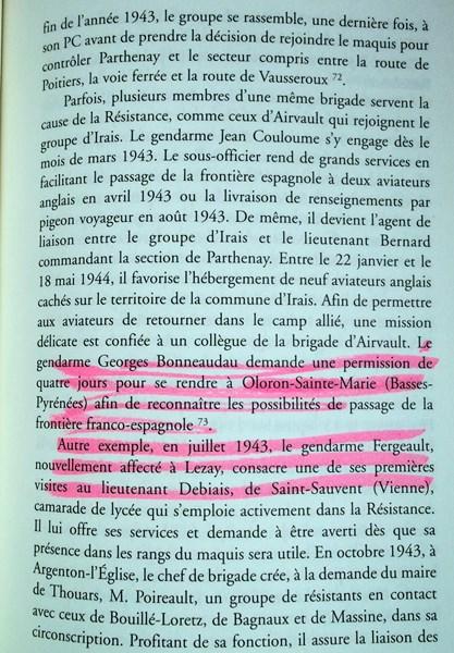 En l'honneur du Gendarme Paul Fergeault de Lezay (79120) 151229055833411447
