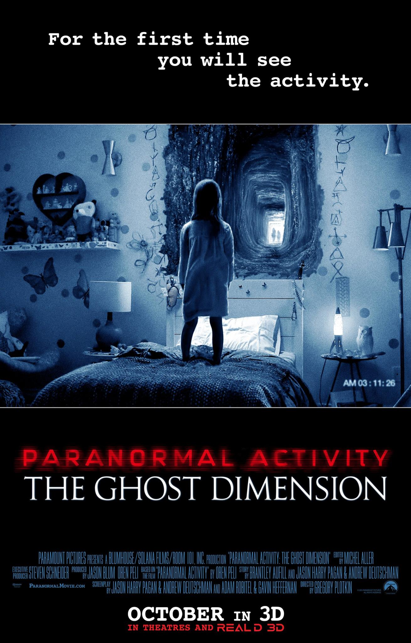 Paranormal Activity: The Ghost Dimension (2015) poster image