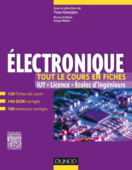 Électronique - Tout le cours en fiches