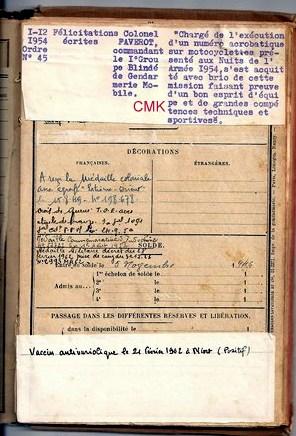 Création  des Premières acrobaties Motos en 1952 1512310459096632