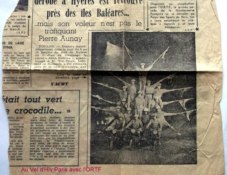 Création  des Premières acrobaties Motos en 1952 160102115700160807