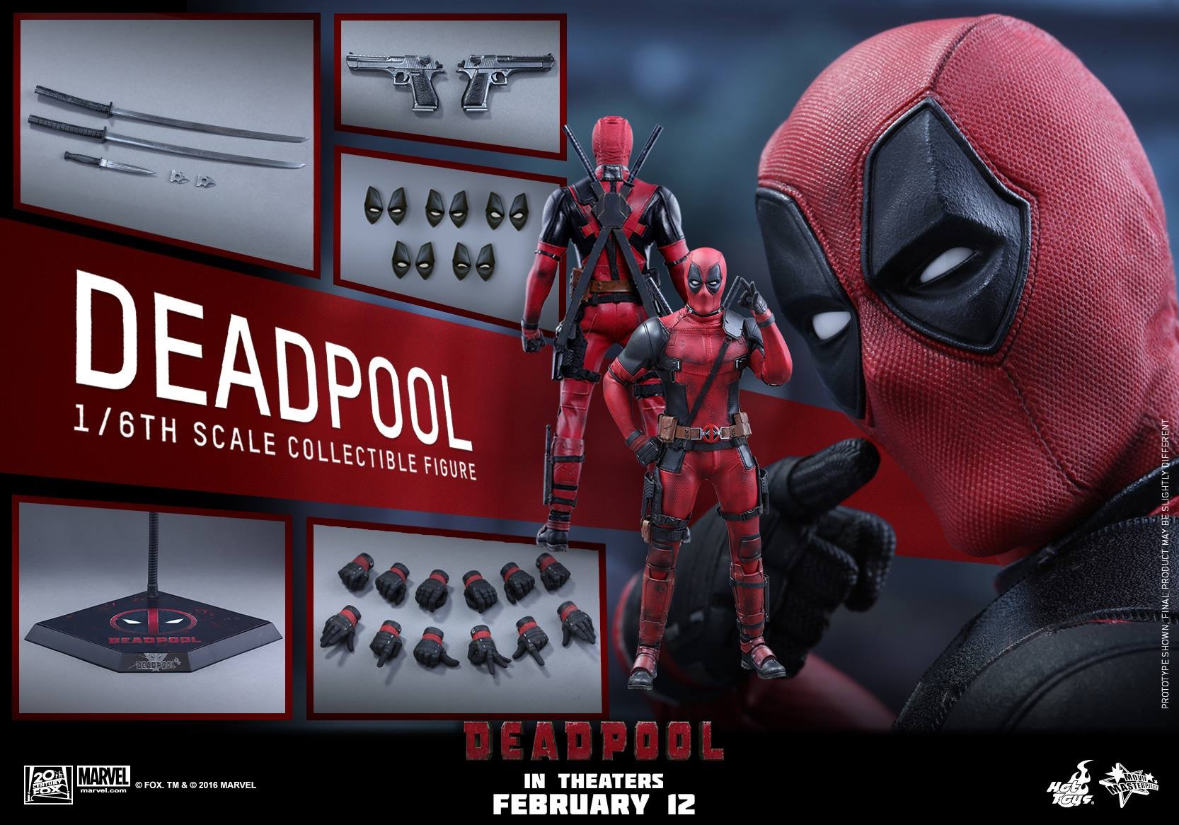 DEADPOOL - DEADPOOL (MMS347) 160104122953322078