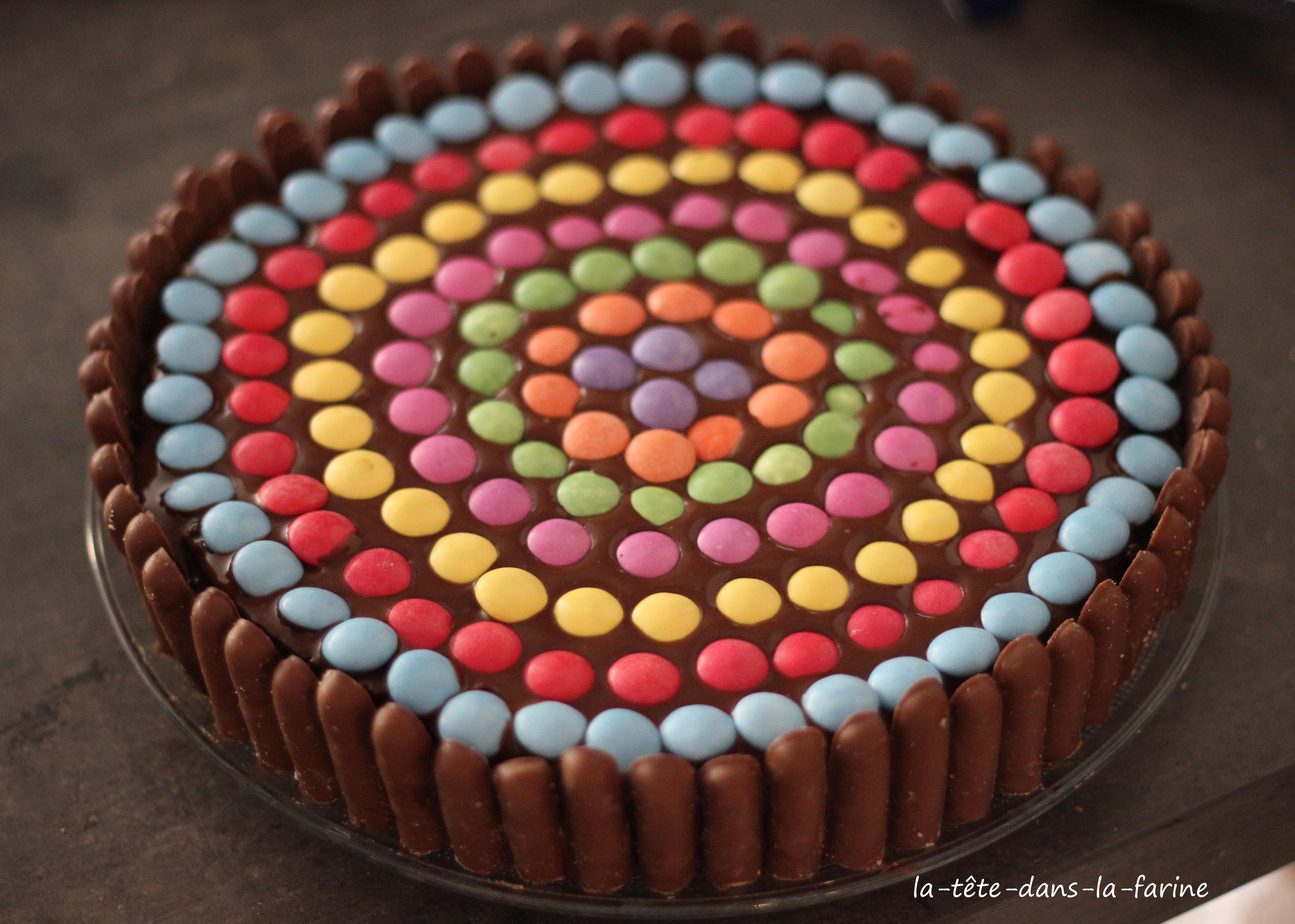 Gâteau d'anniversaire chocolat