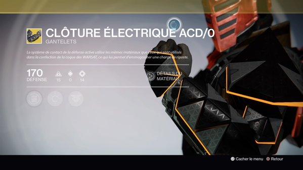 Clôture Electrique ACD0