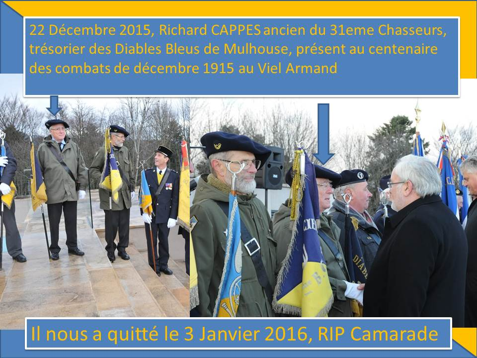décès du camarade Richard CAPPES  160109040034962462
