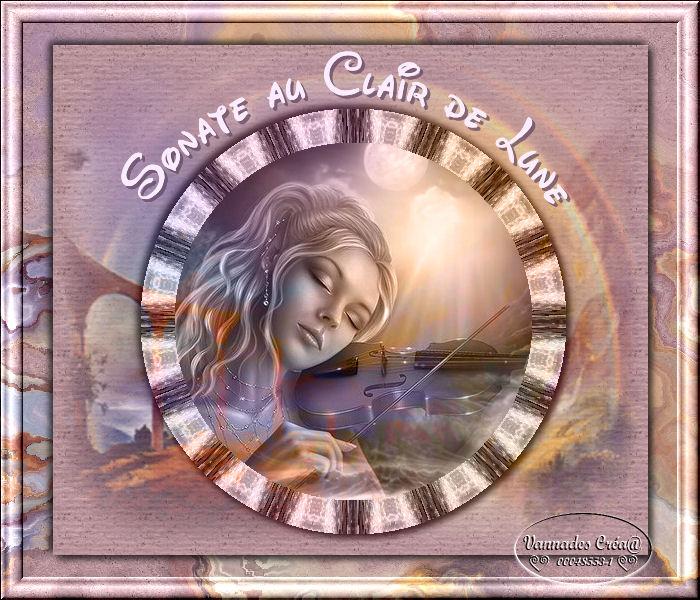 """19- """"Sonate au Clair de Lune"""" tuto de vannades cré@ 16011105484120308"""