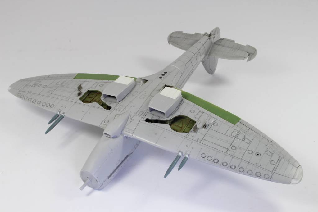 Spitfire F MK 22 , Eduard 1/48 .Limited édition ! 160111075712622471