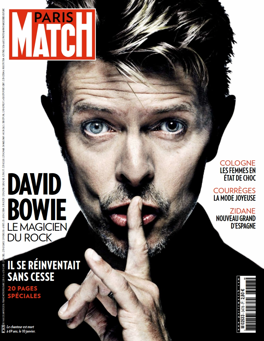 Paris Match N°3478 du 14 au 20 Janvier2016