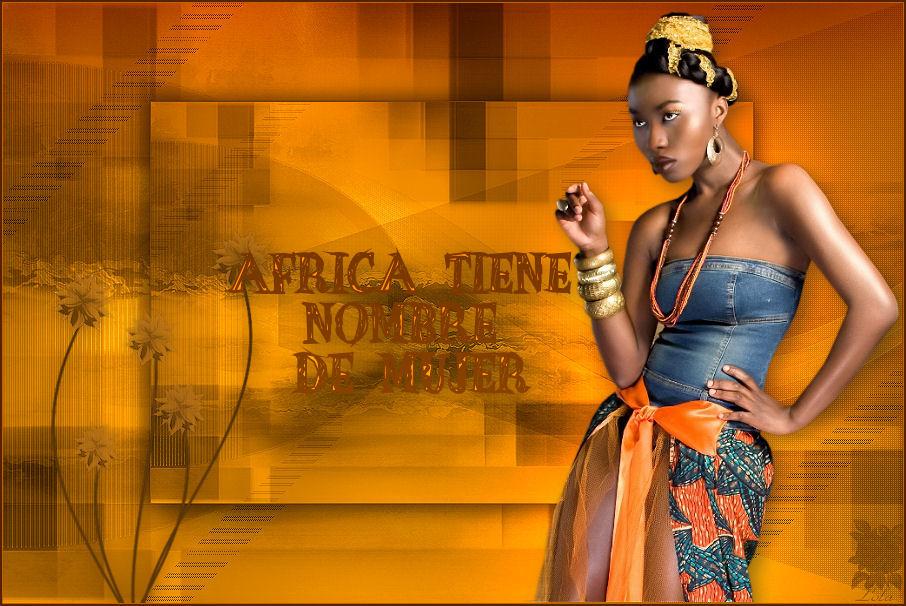 África tiene nombre de mujer