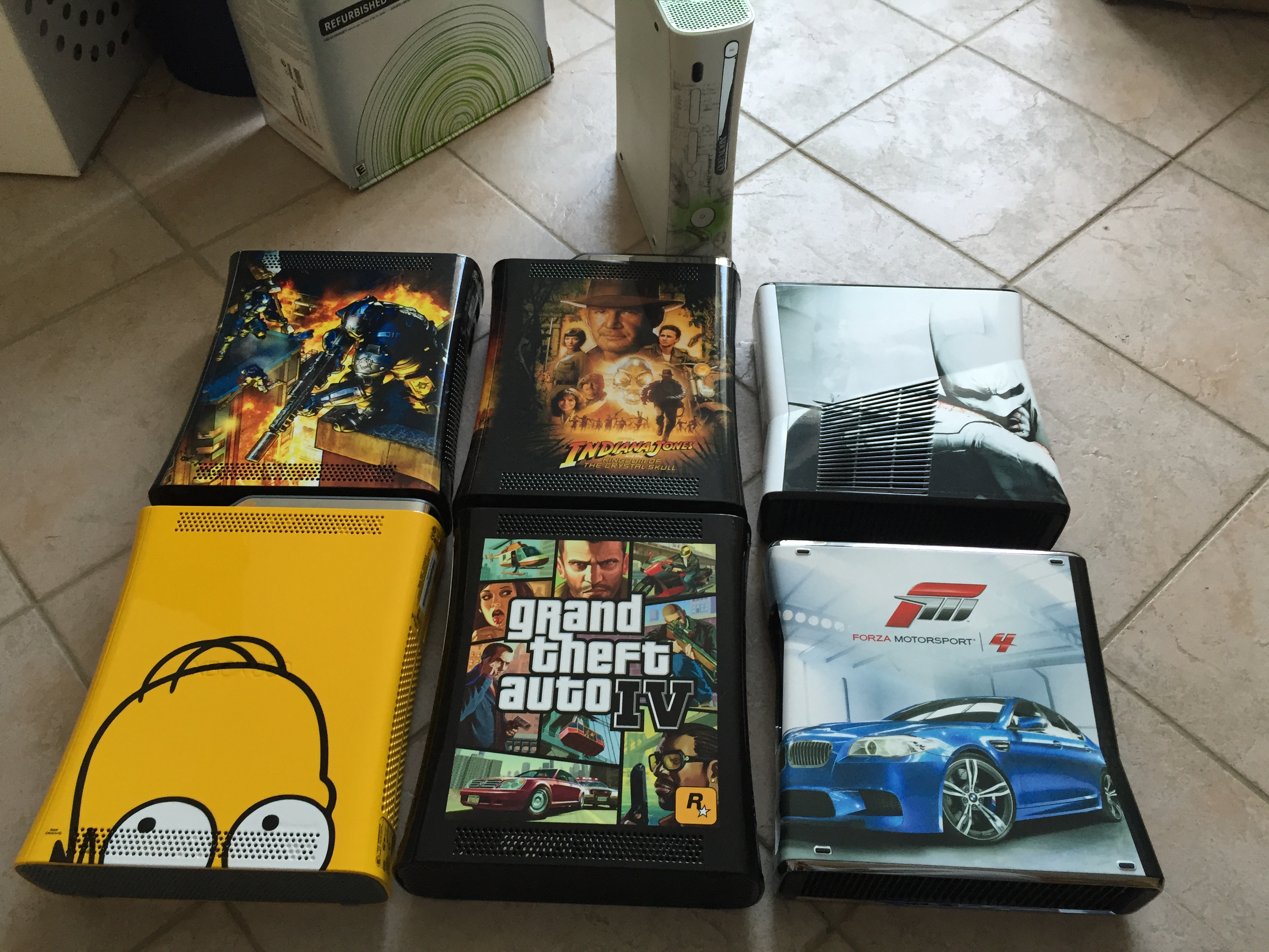 [Vds] Collection 7 Xbox 360 Limited: Simpsons, Indiana Jones, Forza .. 160114110257616658