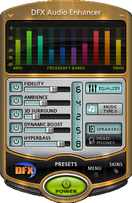 Poster for DFX Audio Enhancer Plus v12.014