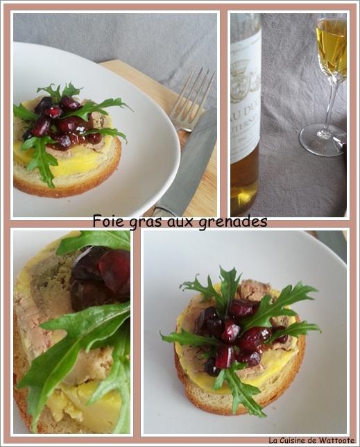 foie gras grenades